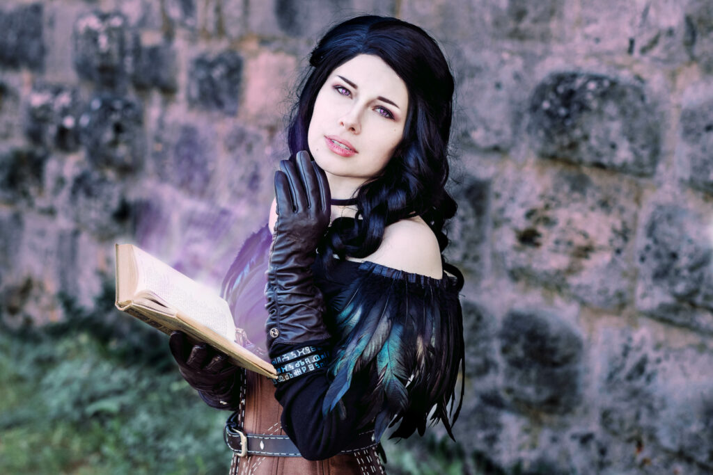 Cosplay Shooting, The Witcher, Yennefer