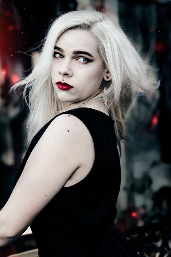 Vampir Fotoshooting