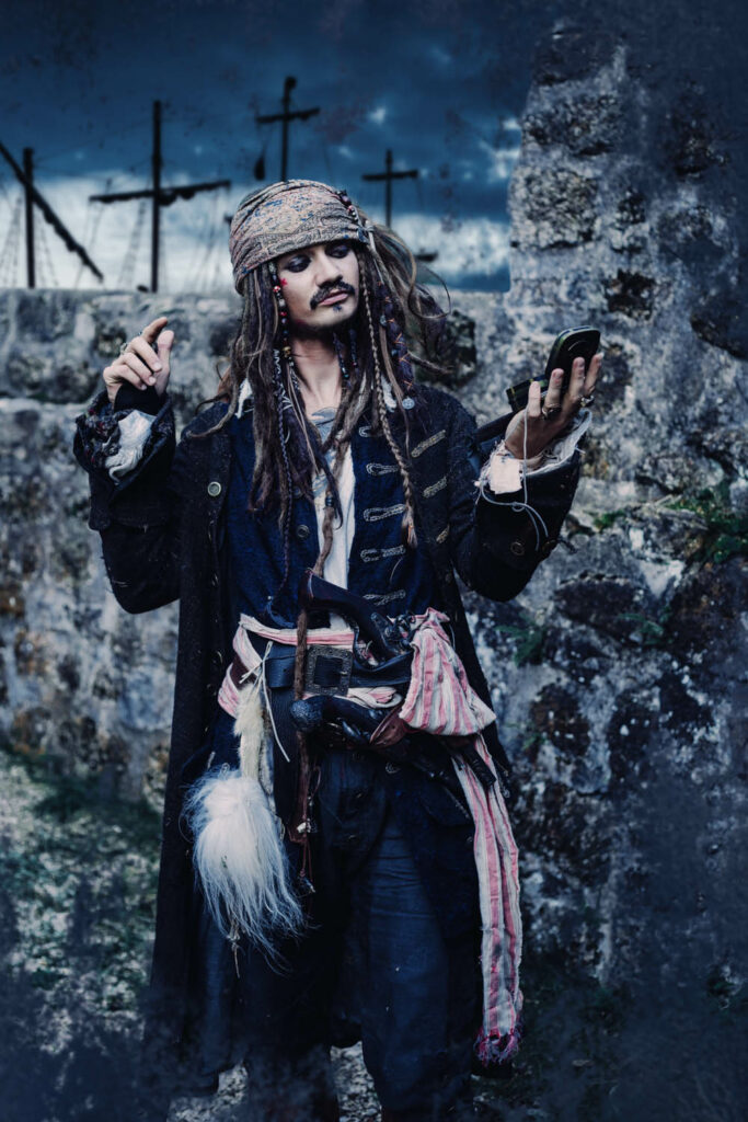 Cosplay Shooting, Jack Sparrow, Fluch der Karibik