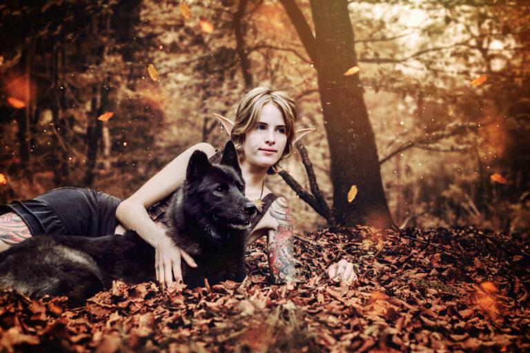 Tiershooting, Husky Shooting, Fantasy Fotografin Wien Ravensburg