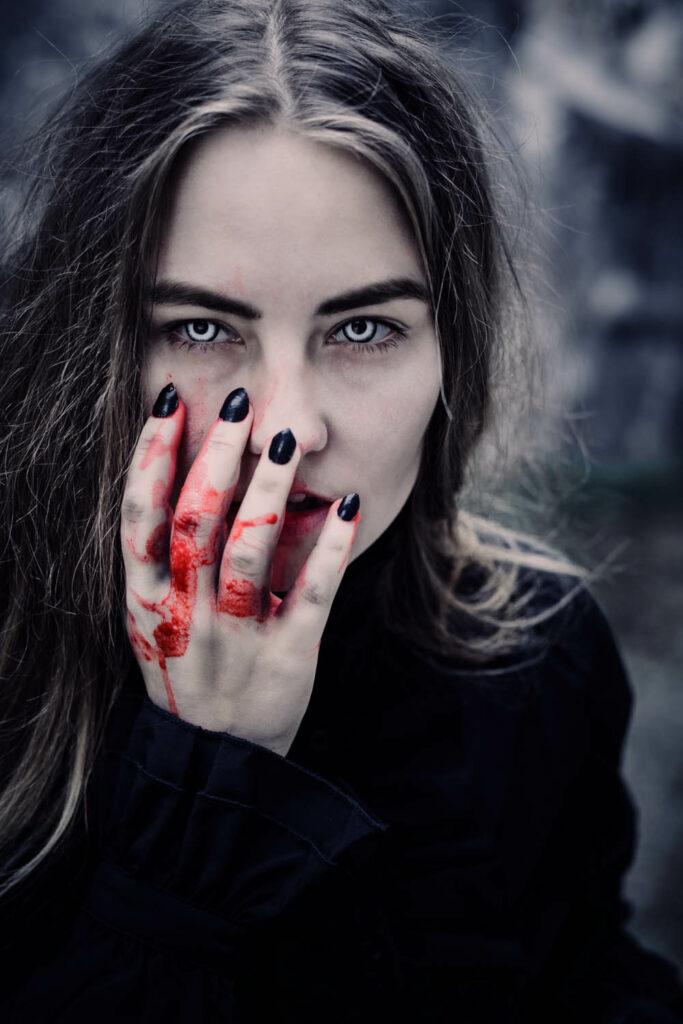 Vampir Fantasy Shooting